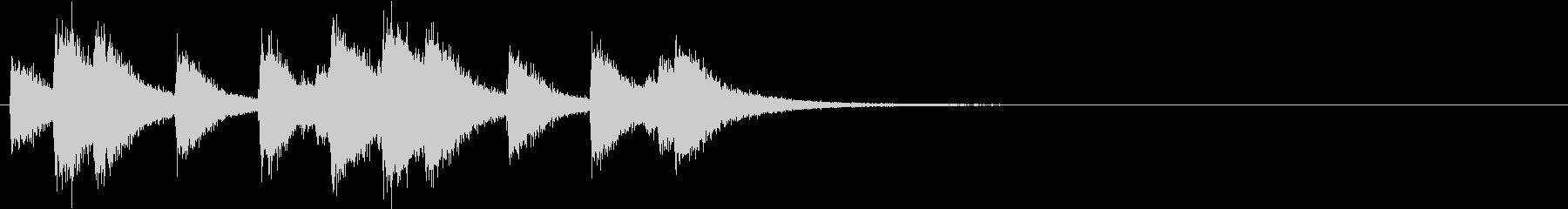 韓国の派手なシンバルのフレーズ音+FXの未再生の波形
