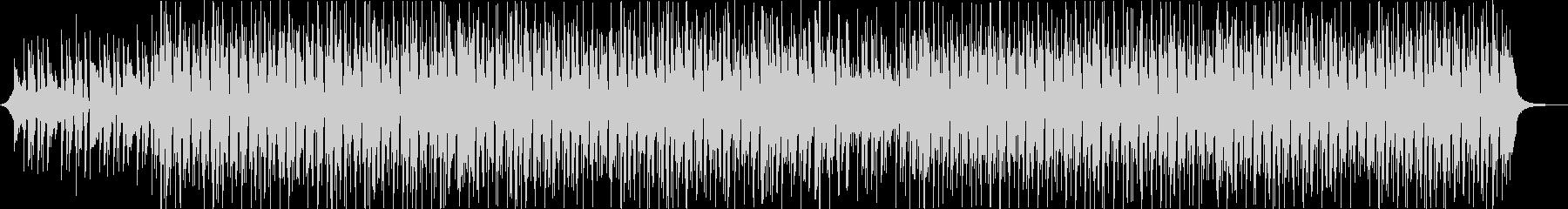ギターウクレレパーカッションの軽いアコーの未再生の波形