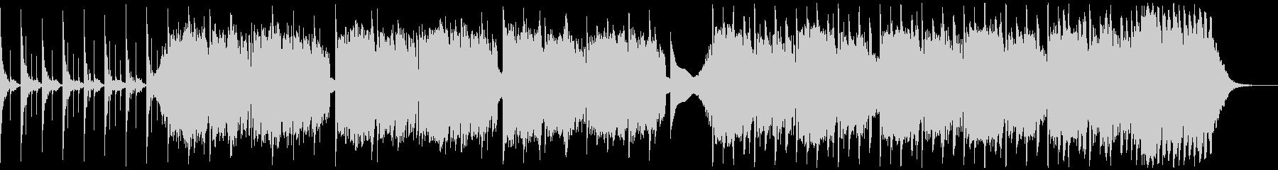低音で変速な暗いアンビエントな曲の未再生の波形