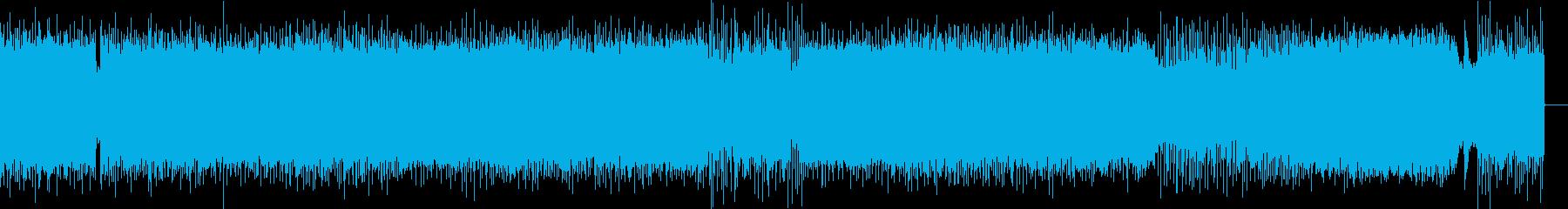 ハードサウンドをポップに軽快にの再生済みの波形
