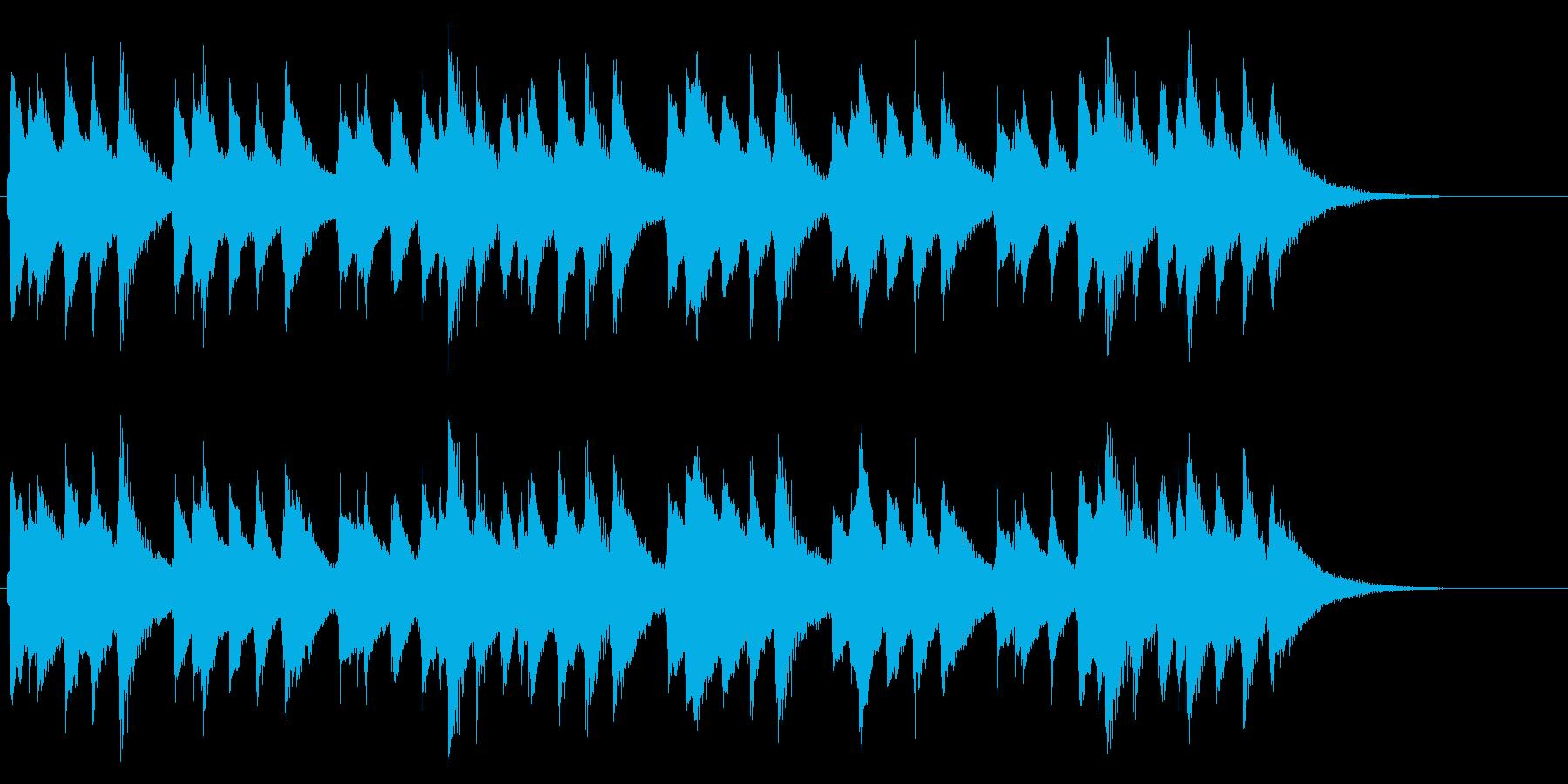 ★定番★ハッピーバースデー★オルゴール★の再生済みの波形