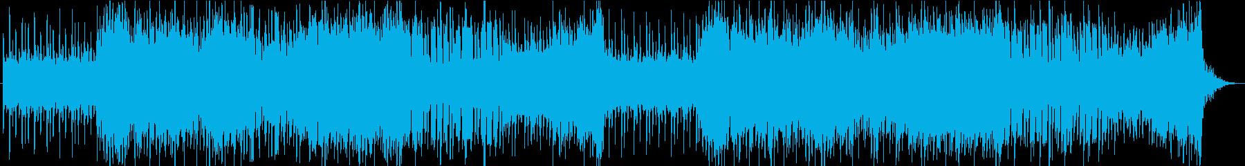 「春の海」和楽器だけのEDM風アレンジの再生済みの波形