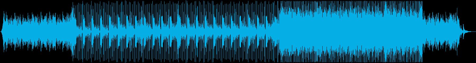 【結婚式に】爽やか・感動的で綺麗なBGMの再生済みの波形