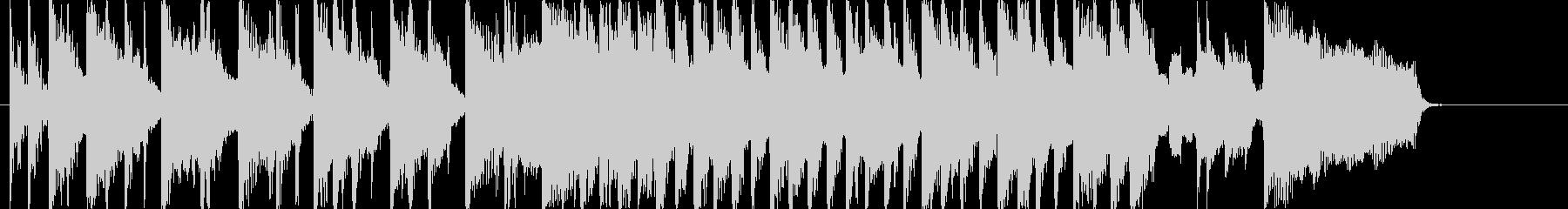 ビートルズ風ミドルロック音源の未再生の波形