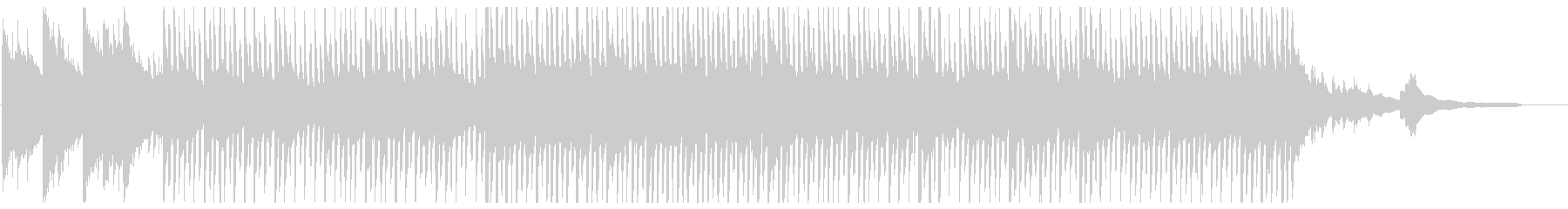 明るいクリーンなコーポレート1_90秒の未再生の波形