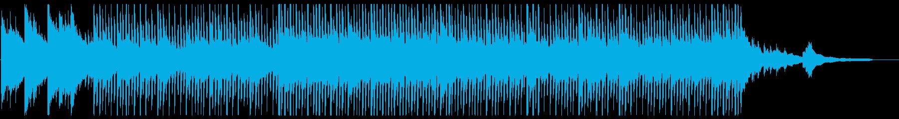 明るいクリーンなコーポレート1_90秒の再生済みの波形