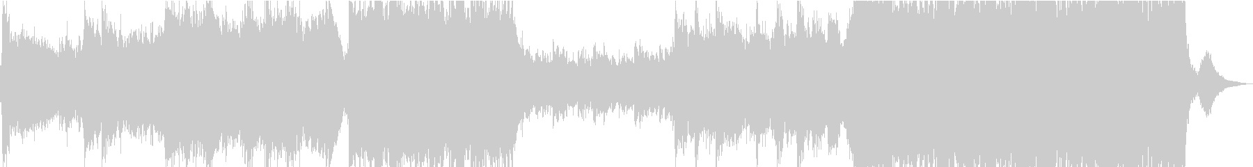 現代的 交響曲 エレクトロ クラシ...の未再生の波形