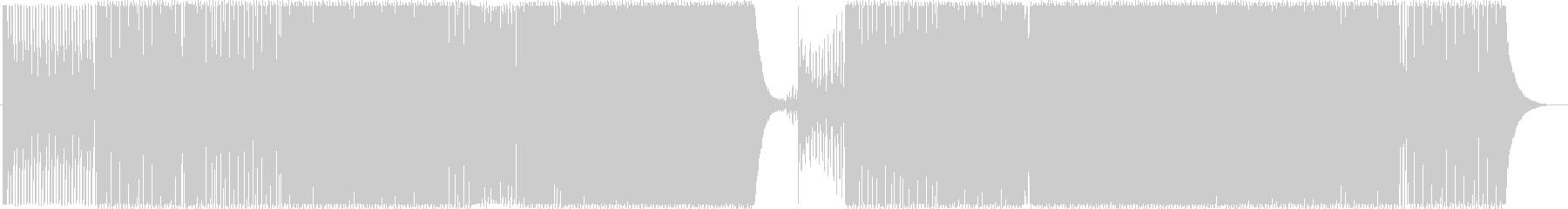テクノ/アンダーグラウンド/疾走感の未再生の波形