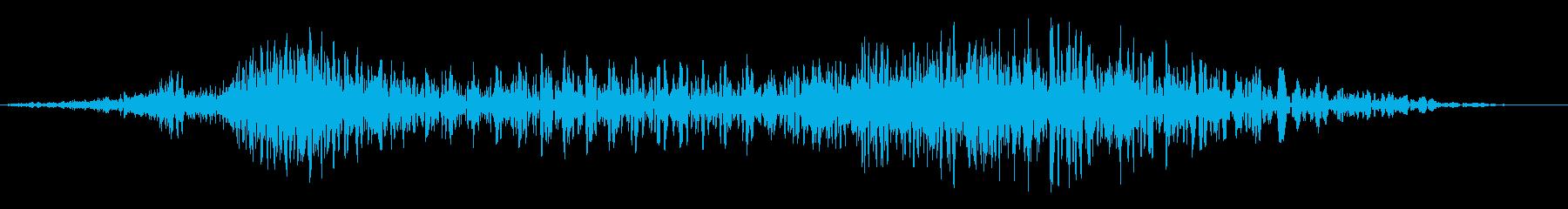 液体捕食者、トレインバズメタルスク...の再生済みの波形