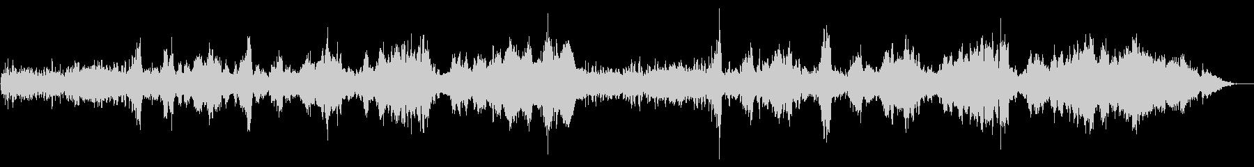 生バイオリン グノー作曲アヴェ・マリアの未再生の波形
