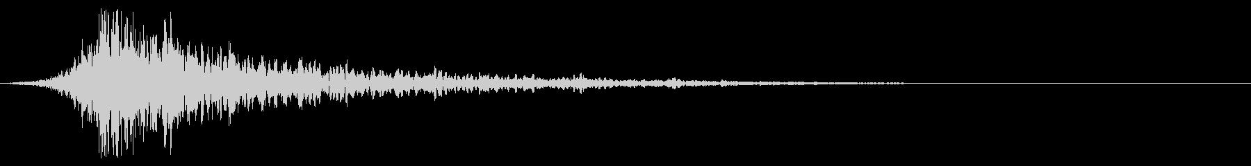 シュードーン-58-1(インパクト音)の未再生の波形