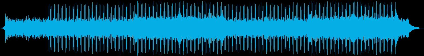企業VP系78、爽やかピアノ、4つ打ちaの再生済みの波形