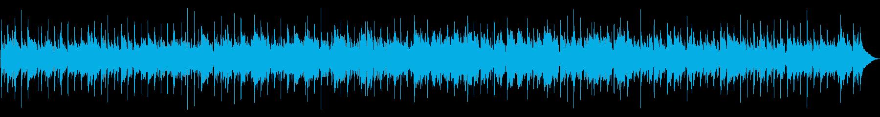 ほのぼのとしたフォーク調ワルツの再生済みの波形