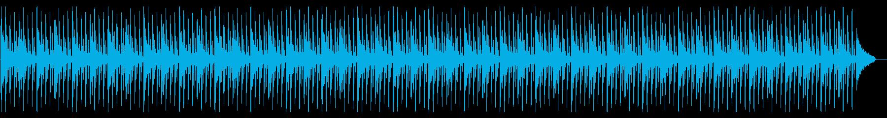 企業VPに モダンで爽やかなピアノポップの再生済みの波形