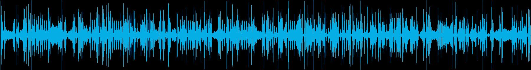 イメージ 不満なロボット01の再生済みの波形