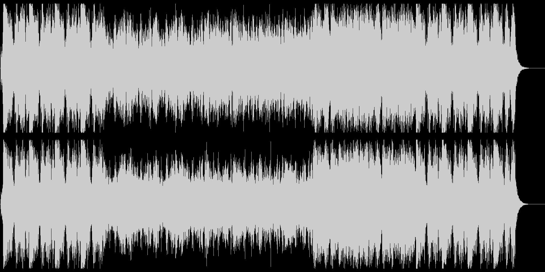 ハレルヤ協奏曲(クラシックのアレンジ)の未再生の波形