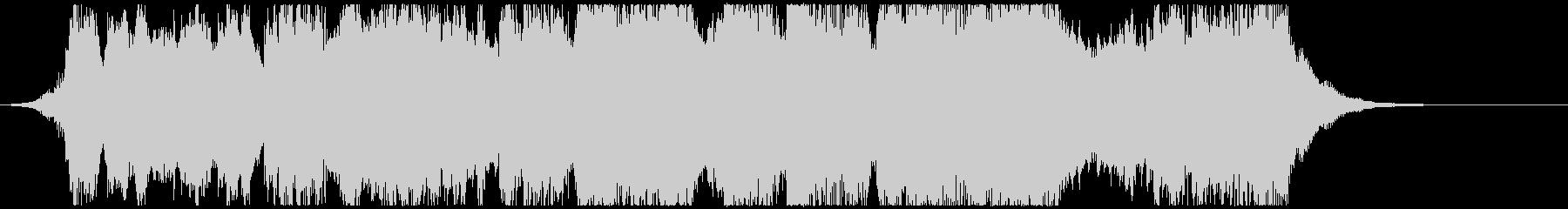 オーケストラ風の序曲の未再生の波形