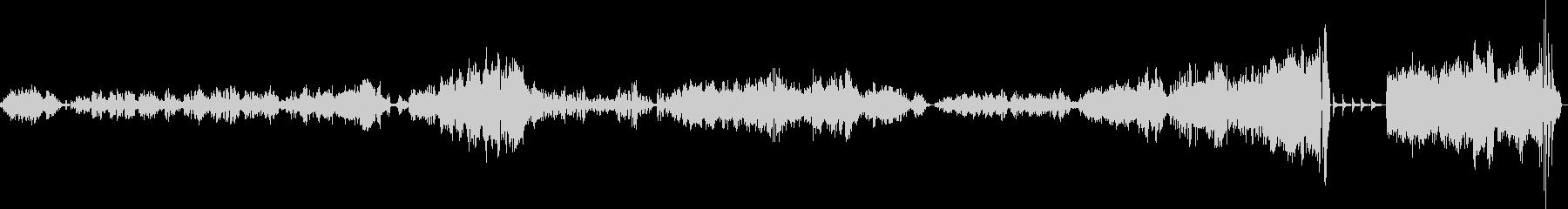 ショパン バラード Op52の未再生の波形