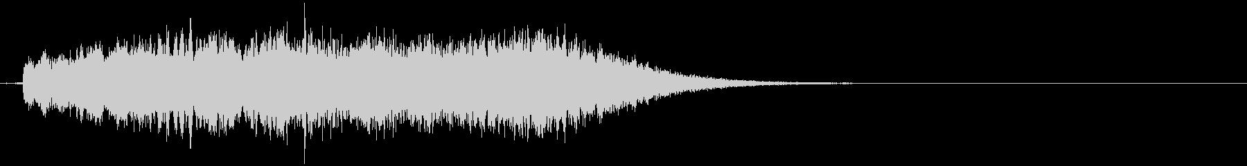 【ホラー】SFX_51 絶望の声の未再生の波形