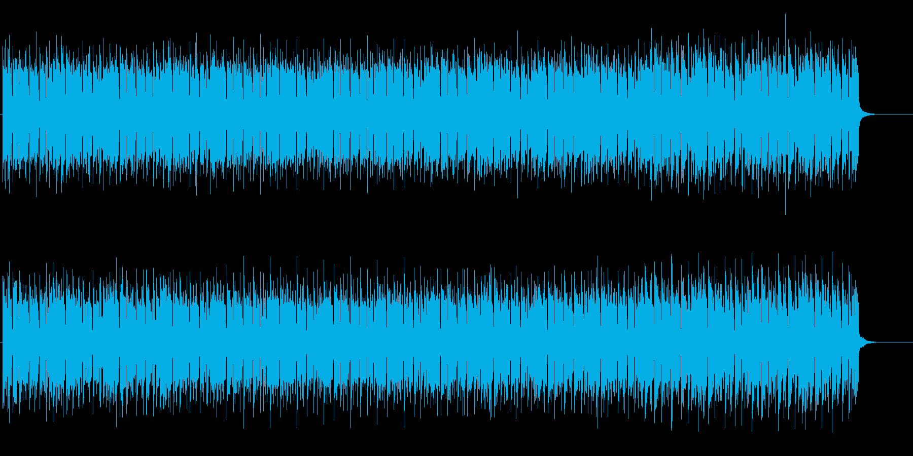 セクシーなエレクトロHipHopの再生済みの波形