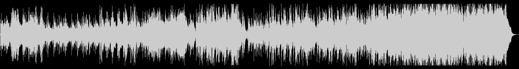 温かみのあるアコギとハーモニカの未再生の波形