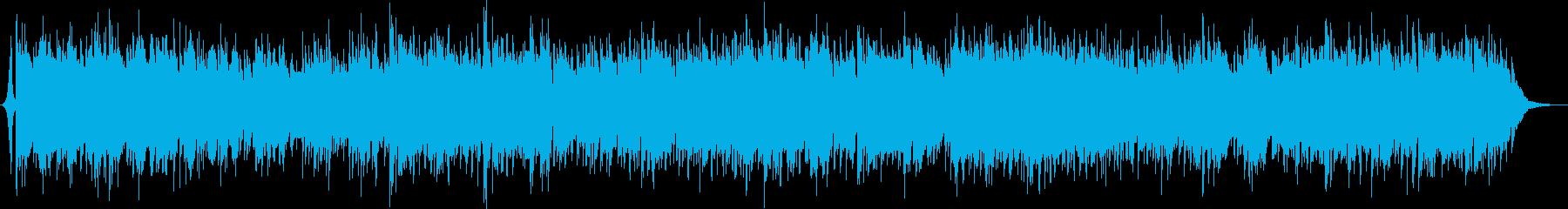 透明感のある洋楽ドリームポップ ギタポの再生済みの波形