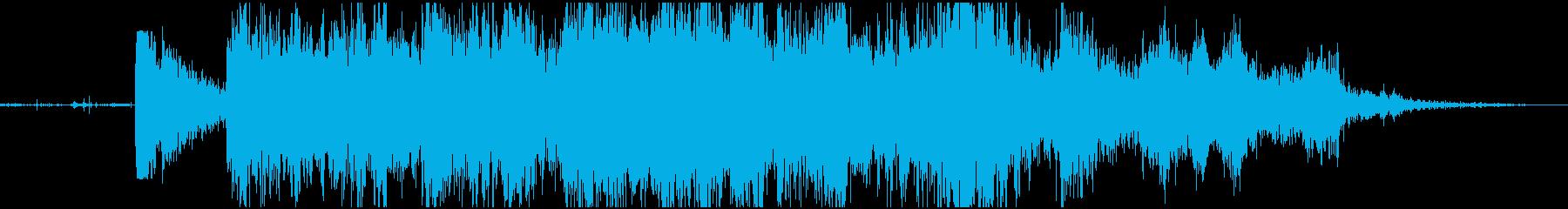 【爆発】 戦場_04 War Zoneの再生済みの波形