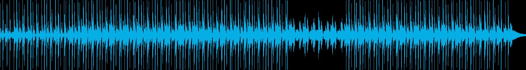 スチールドラムとvibeyレゲエトラックの再生済みの波形