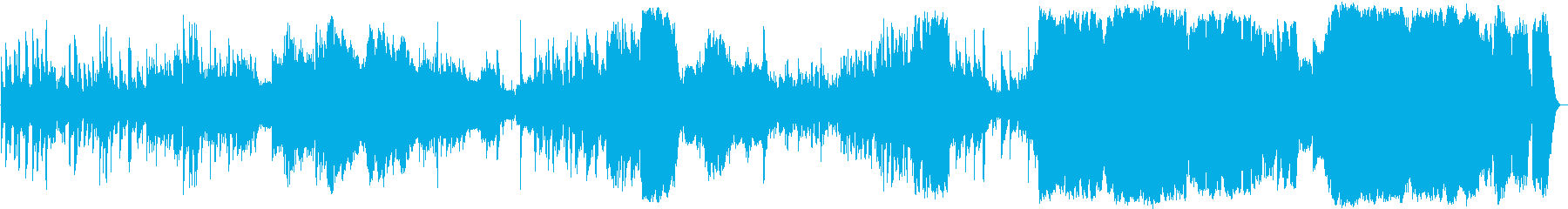 ほのぼのした感動的なオーケストラの再生済みの波形