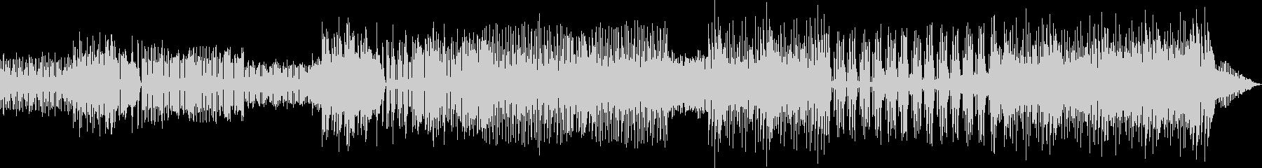 チップチューン風インストゥルメンタルの未再生の波形