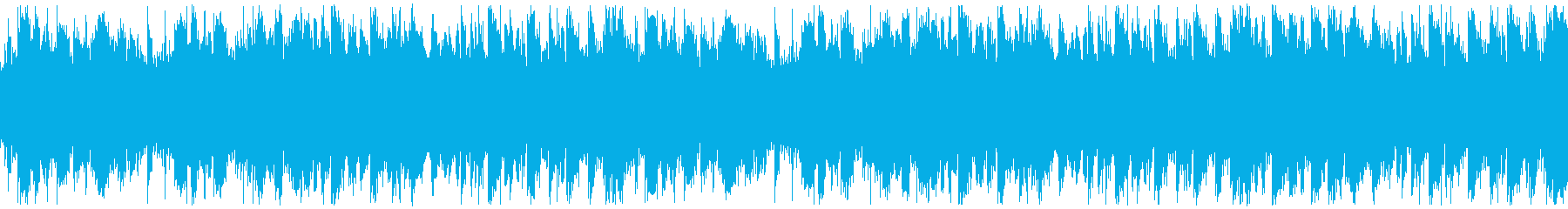 ループ・おしゃれな映像作品・EDMの再生済みの波形