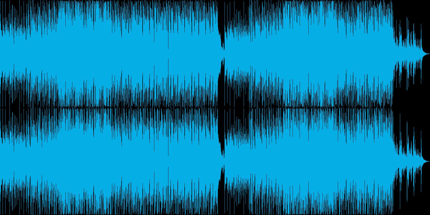 繊細なジャズのようなライトポップトラックの再生済みの波形