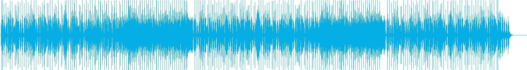 料理_子供_動物系動画向けハッピーな曲5の再生済みの波形