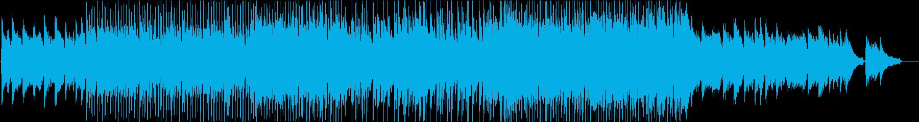 企業VPにポジティブ爽やかなギターピアノの再生済みの波形