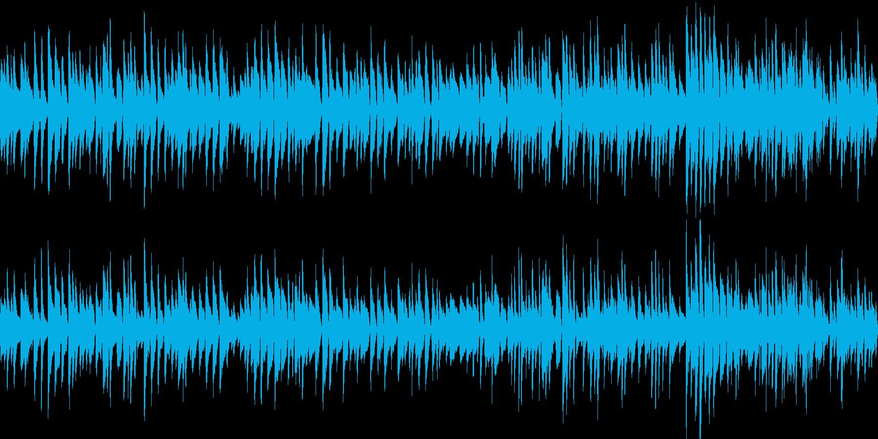 お洒落なジャズピアノトリオ10の再生済みの波形