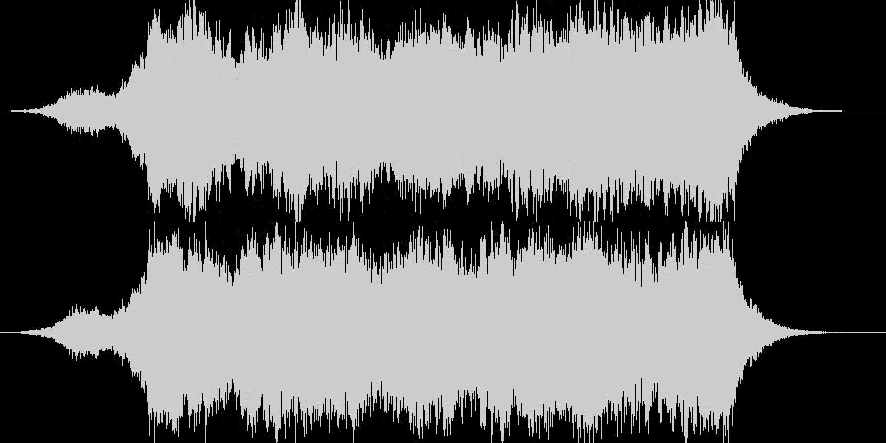 壮大なオーケストラ15秒CM楽曲。の未再生の波形