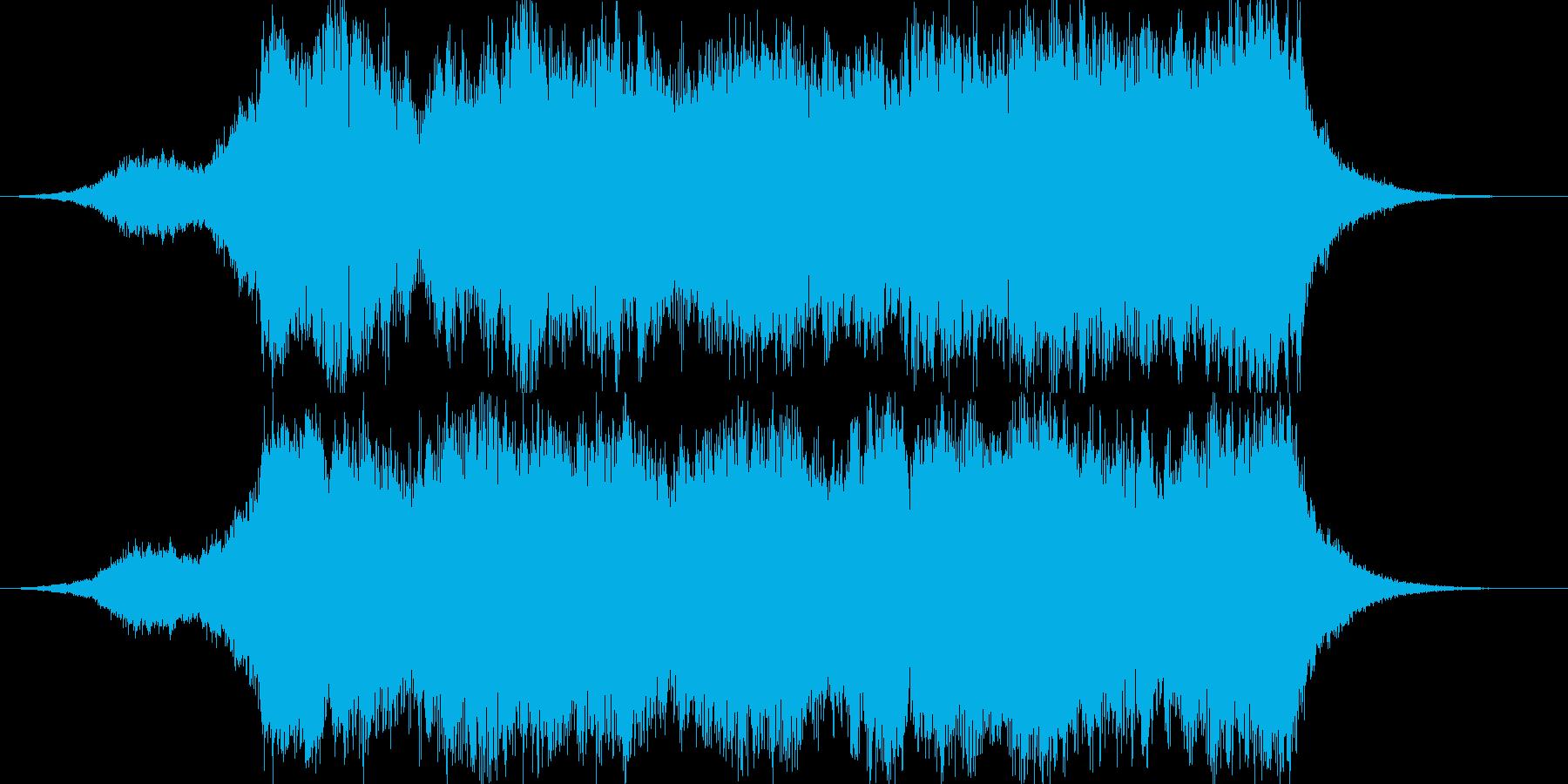 壮大なオーケストラ15秒CM楽曲。の再生済みの波形