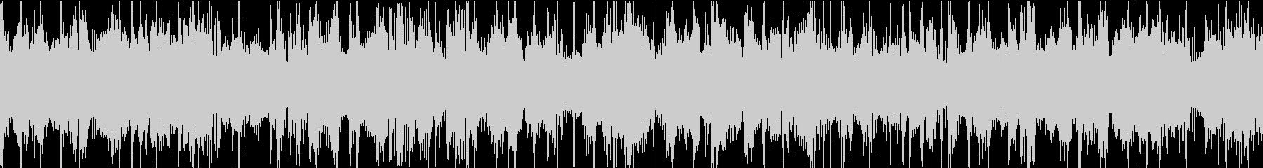 チャンネル登録ジングルメロウファンクの未再生の波形