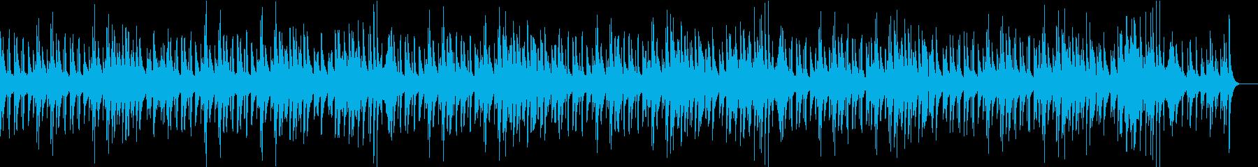 滑らかでエレガントなジャズの再生済みの波形