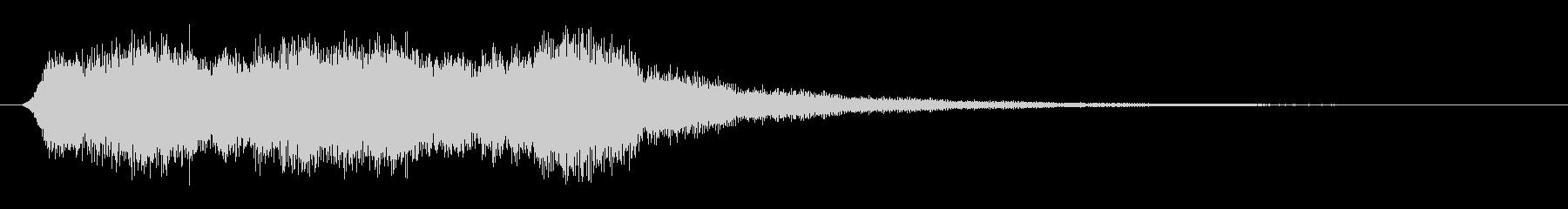 パッド エアリー合唱団ブライト01の未再生の波形