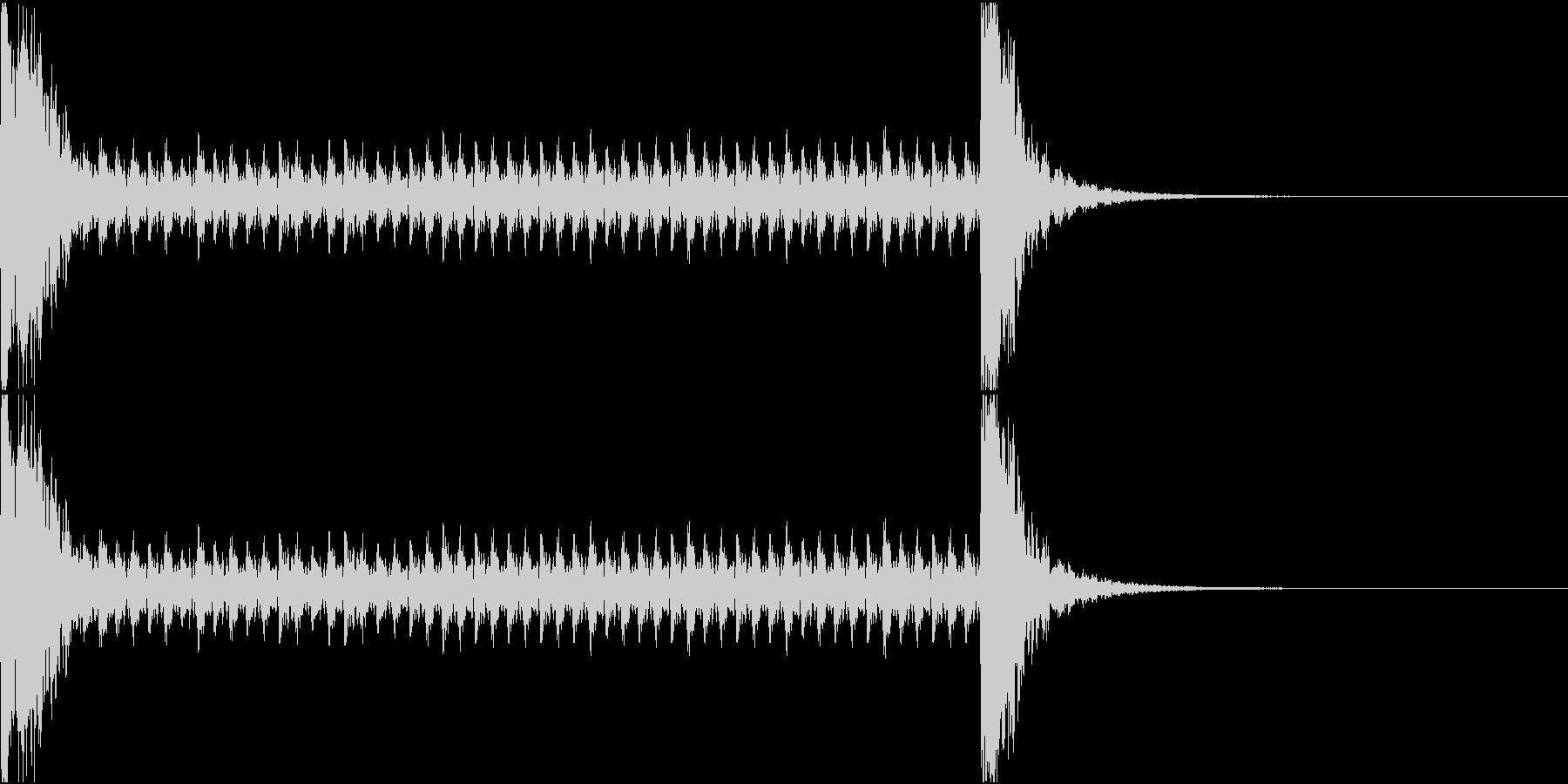 和風ドラムロール[和太鼓、鼓]10秒_2の未再生の波形