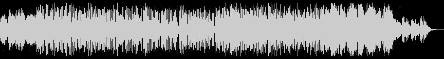 エクスペリメンタルなテクスチャの未再生の波形