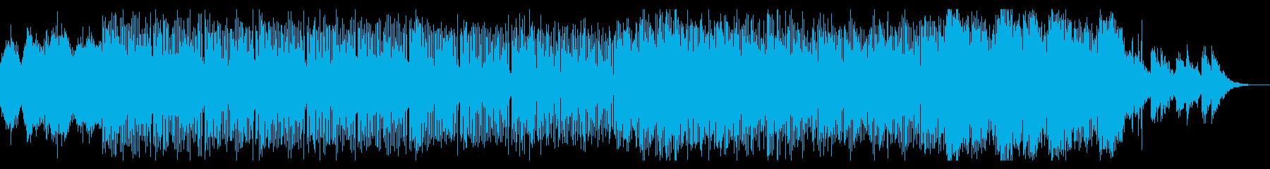エクスペリメンタルなテクスチャの再生済みの波形