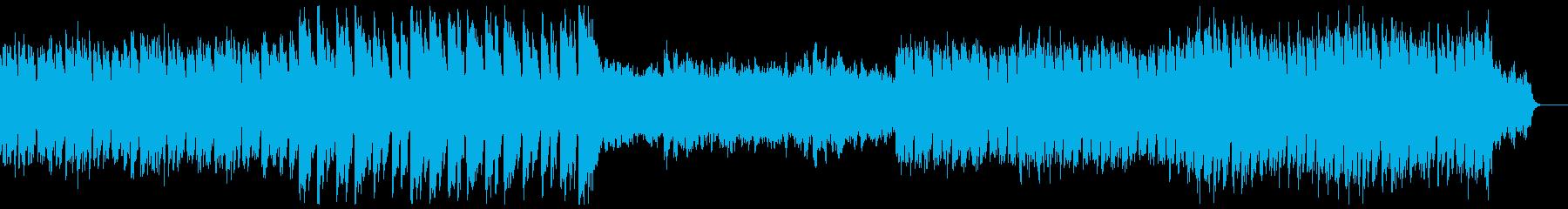 クラシック風/喜び/壮大/きらびやかの再生済みの波形