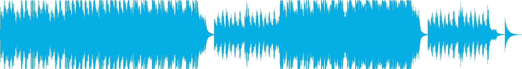 クラシック、シネマティック、ピアノの再生済みの波形