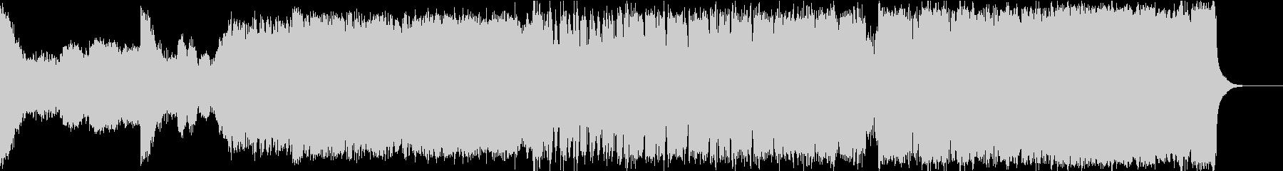 エピックヴォーカライズとボーイズクワイヤの未再生の波形