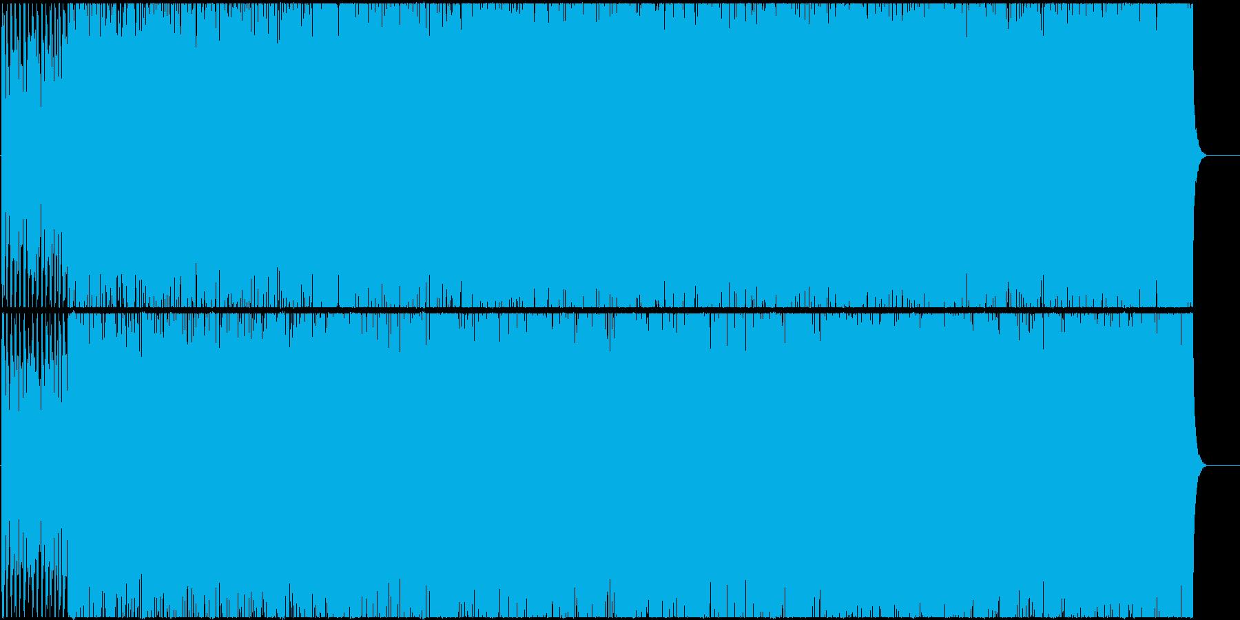 エキゾチックでバブル風なBGMの再生済みの波形