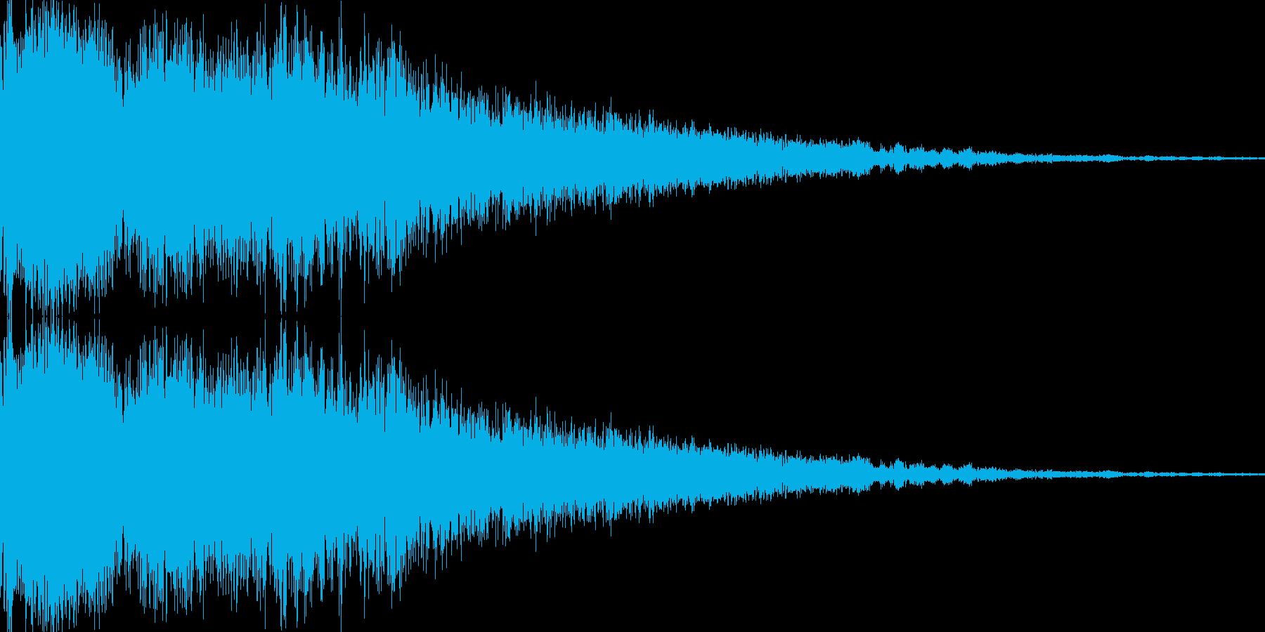 シャキーン(レベルアップ)の再生済みの波形