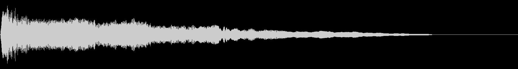 尺八三重奏による和風ジングル01の未再生の波形
