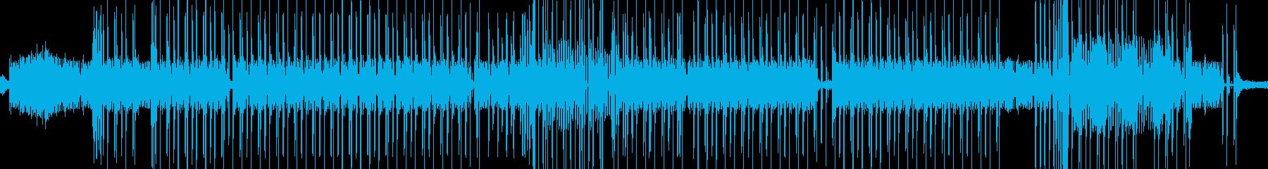 剥ぎ取り、拍手とシンセ。電子。イン...の再生済みの波形